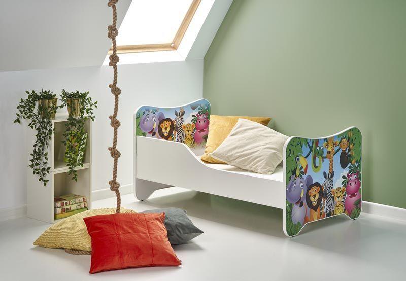 HAPPY JUNGLE / łóżko wielobarwny