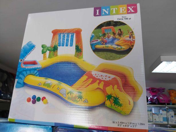 Nowy duży basen dmuchany ,wodny plac zabaw dla dzieci Intex