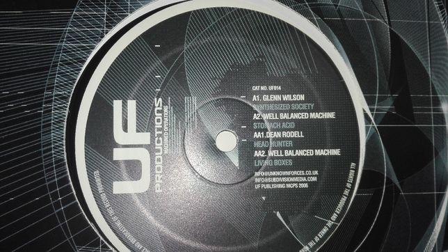Hard Techno. Płyta winyl - Glenn Wilson , Dean Rodell. Nowa.