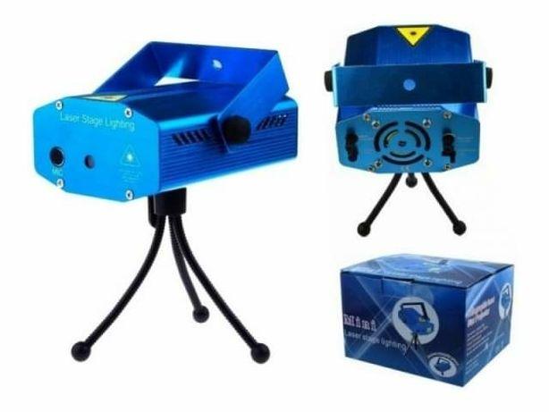 projektor laser z czujnikiem dźwięku