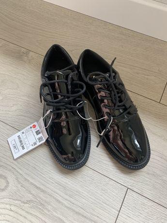 Lakierki buty komunijne 36 zara wkl 20,5cm