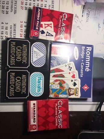 BICYCLE Карты  для игры в покер новые Канада очень хорошее качество