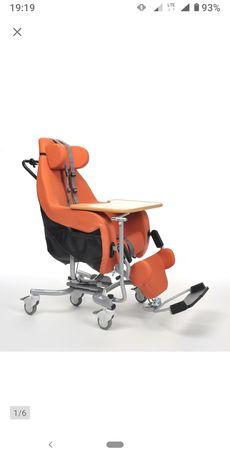 Wózek inwalidzki specjalny COQUILLE stabilizujący