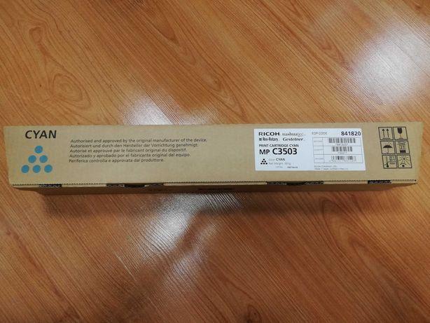 Toner CYAN Original RICOH C3503 Ref. 841820