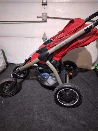 Wózek dziecięcy czerwony