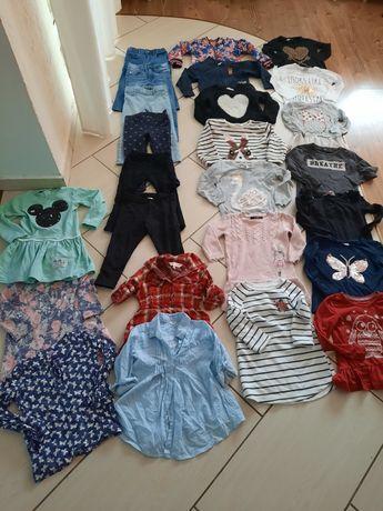 Komplet ubrań dla dziewczynki 98/104