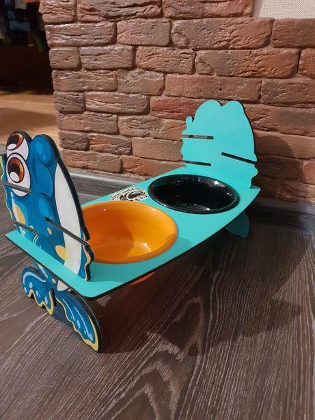 Кормушка для животных, подставка под миску