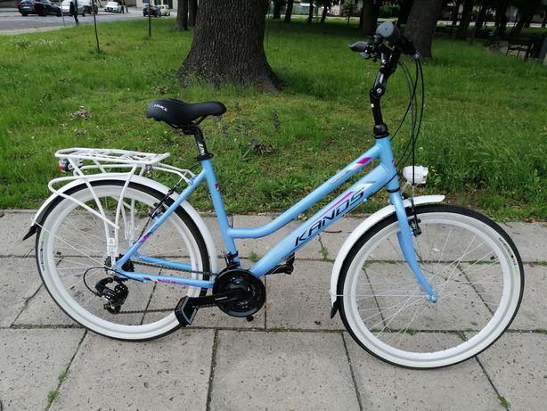 Nowy aluminiowy rower Kands Venus 26/shimano /solidny /lekki/wygodny