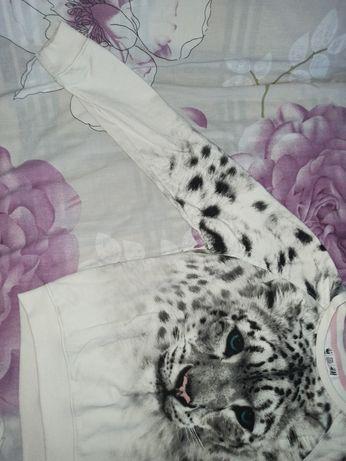 Кофта H&M с тигром