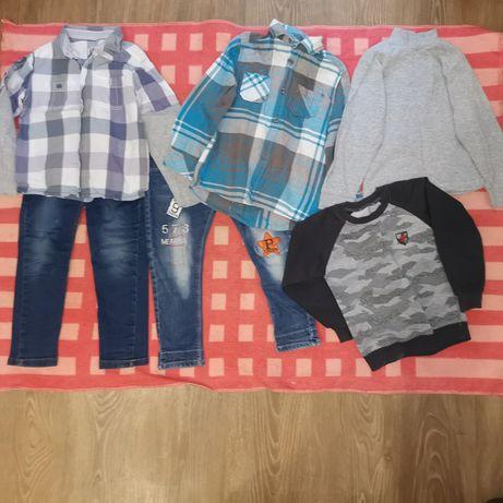 Пакет вещей для мальчика 3-5