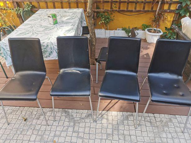 Conjunto 4 Cadeiras de refeição