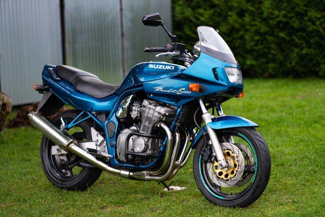 Suzuki GSF 600 Bandit tylko 28 tys. km  A2 35kW 25kW  GSF600 S1998