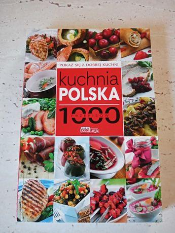 Książka 1000przepisów kuchnia polska