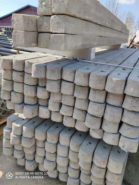 Słupki betonowe - ogrodzeniowe - leśne - do malin