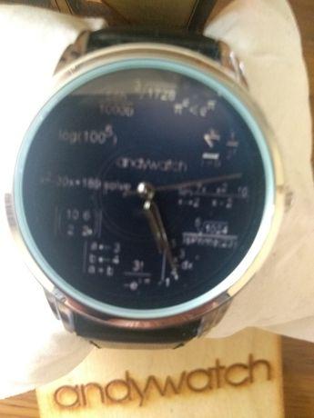 Наручний годинник Andywatch оригінальний циферблат вища математика