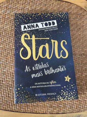 """Livro """"As estrelas mais brilhantes"""""""
