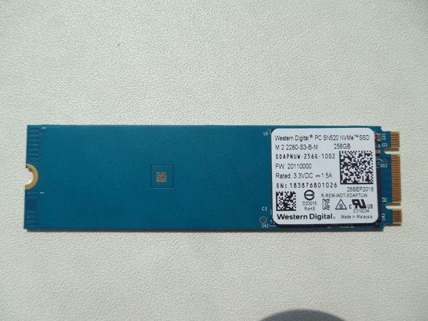 Продаю SSD WD SN520 2280 M.2 [SDAPNUW-256G] NVMe