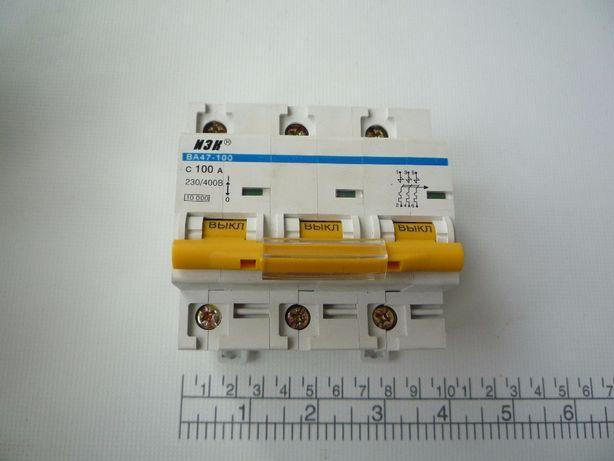 Автоматичний вимикач ВА47-100 С 100 А