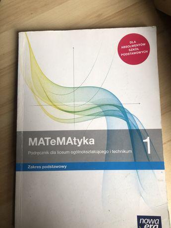 Ksiażka Matematyka 1