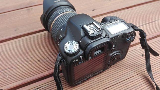 Aparat Canon EOS 50D + obiektyw Tamron 17-50mm F/2.8 + osprzęt.