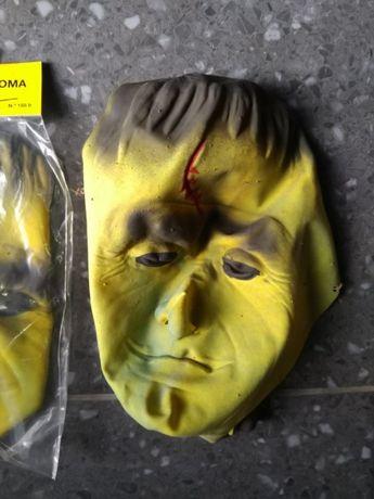 Máscara Frankenstein em Silicone – Carnaval e Halloween