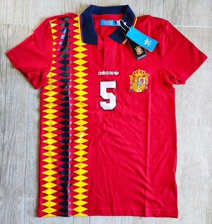 Camisola Espanha Adidas Originals nova t-shirt adulto S