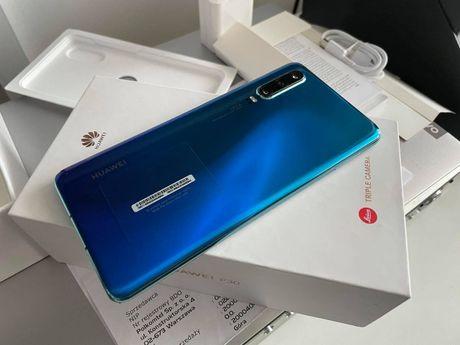 Huawei P30 Aurora 128GB 6GB Ram/Gw Prod.6MC/Wysyłka Natychmiast!