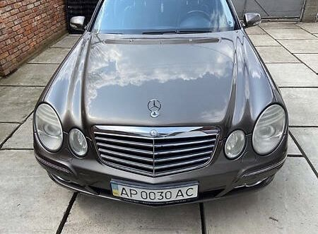 Mercedes W211 E class е клас