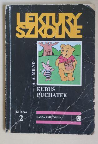 Kubuś Puchatek wyd. Nasza Księgarnia seria Lektury Szkolne A.A.Milne