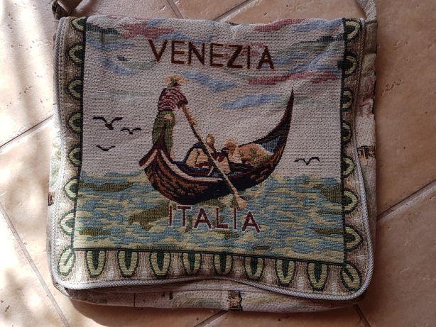 Pamiątka z Włoch z Wenecji. Torebka podróżna.