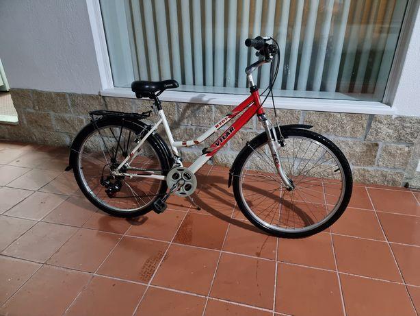 Bicicleta de senhora Vilar roda 24