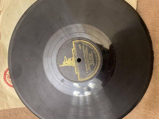 Патефонная пластинка Бернес. 78 об.