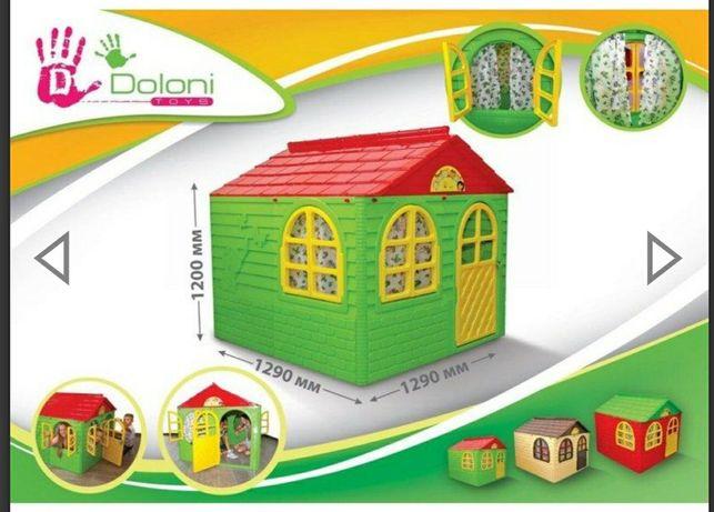 будинок дитячий пласмасовий