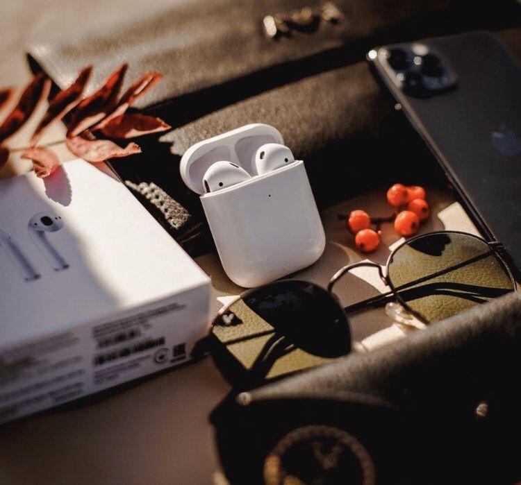 NEW Apple Airpods 2 наушники   Новые + б/у  Аирподс 2 с гарантией Чернигов - изображение 1