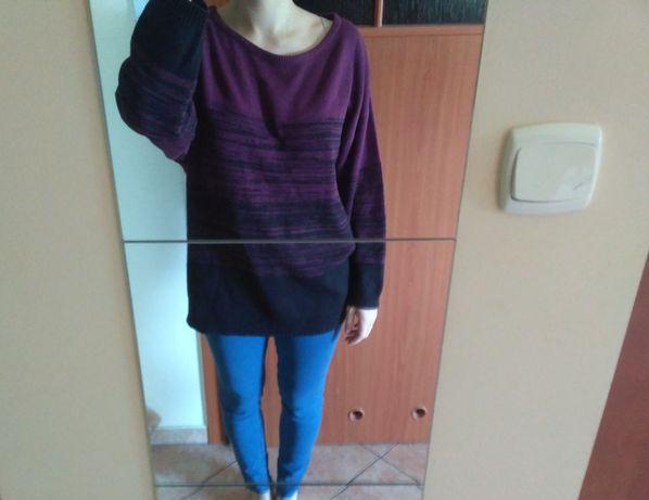 Sweter długi H&M motyl rozmiar M
