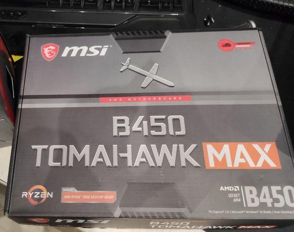 Материнська плата msi B450 TOMAHAWK MAX