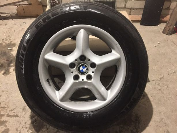 Диски 5 шт оригинал с резиной BMW X5 235/65 17