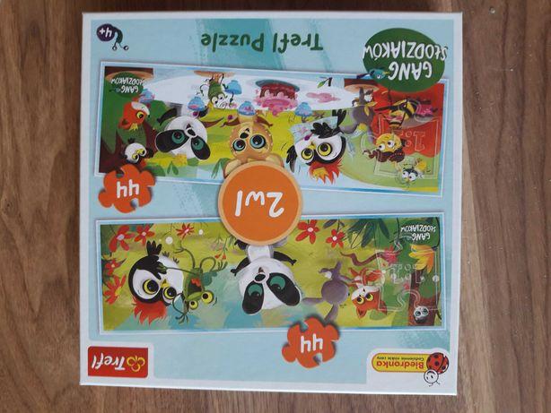 Puzzle gang słodziakow 2 opakowania