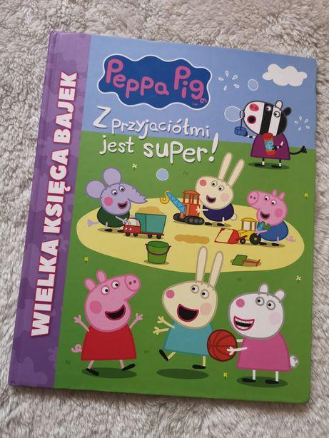 Peppa peppa pig wielka księga bajek świnka książka z przyjaciółmi