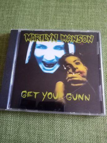 Marilyn Manson - Get Your Gunn CD Single