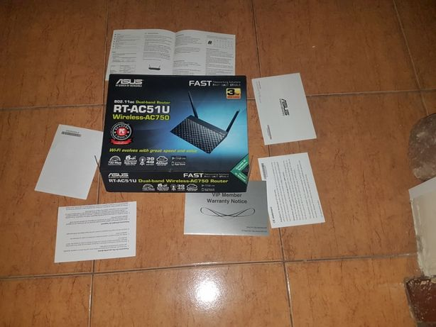 Router ASUS RT-AC51U ac750 Dual Band
