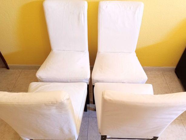 4 Cadeiras Henriksdal IKEA