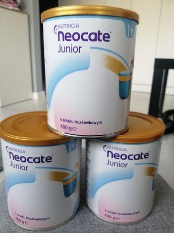 Mleko neocate Junior 400g truskawkowe, waniliowe