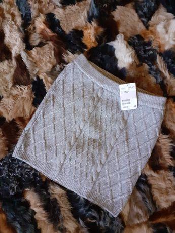 H&M NOWA !! Spódniczka Spódnica 146 / 152 cm ZIMA WIOSNA dzianina grub