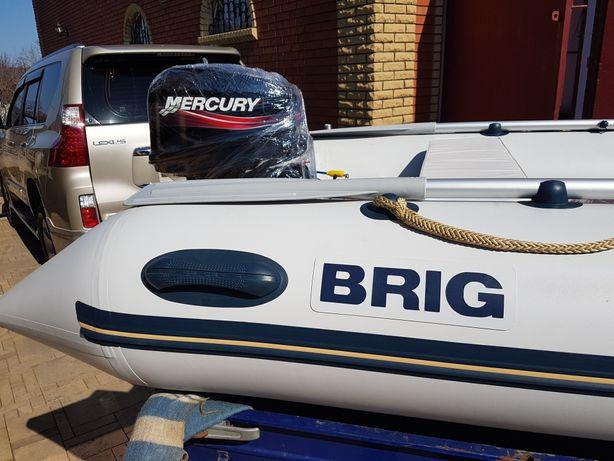 Продам лодку Бриг с мотором