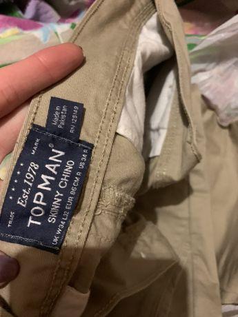 Брюки, штаны topman новые L
