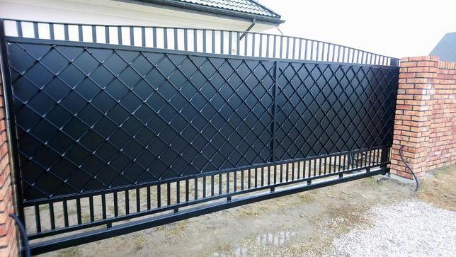 Brama ogrodzenie płot kuta nowoczesna wzór BR-10 mazowieckie