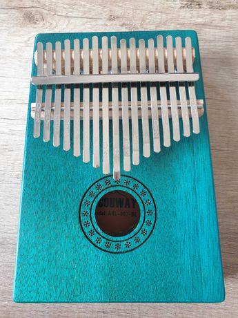 Drewniana Kalimba przenośne pianino 17 klawiszy Acouwey AKL-007-BL