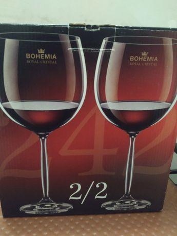 Новые большие бокалы по 900мл Богемия
