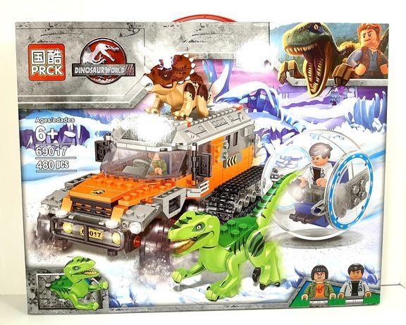 Конструктор с динозаврами, Парк Юрского Периода, Аналог Лего LEGO